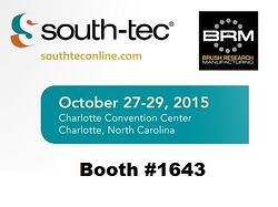 SOUTH-TEC 2015: Visit BRM in Booth #1643