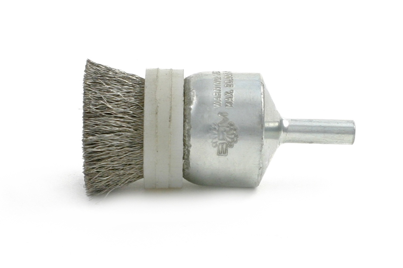 Banded End Brush with Solid Wire