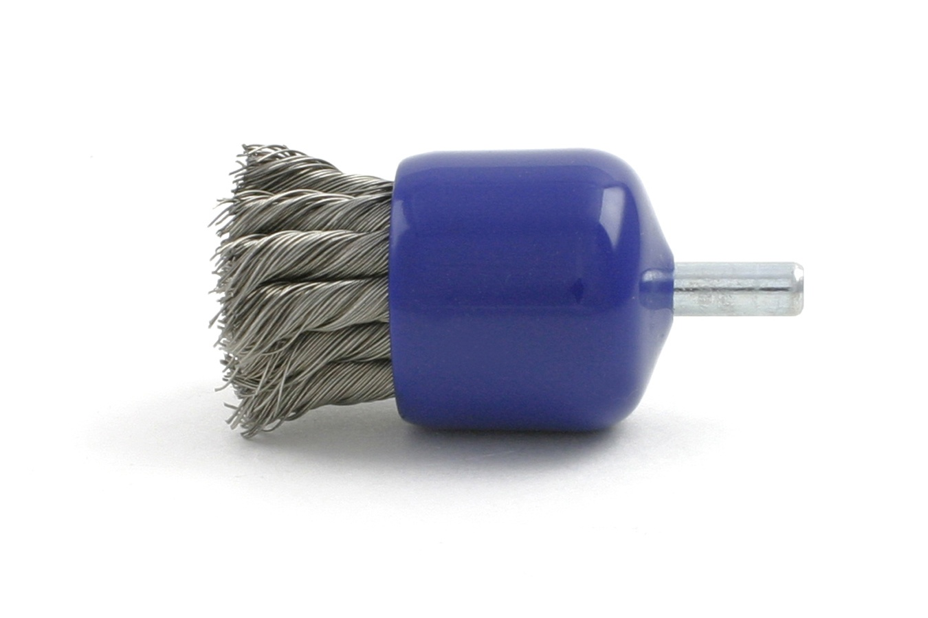 Knotted Wire End Brush with Banded End