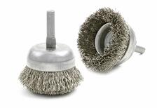 Wire Cup Brush - Small Diameter