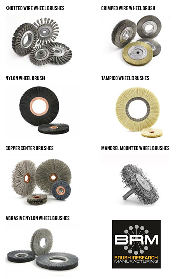 Types of Wheel Brushes